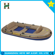 PVC cheap inflatable rowing boat/fishing boat