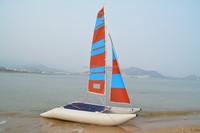 inflatable sailing catamaran 4.5m length