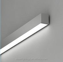 Elektrik 2x36W floresan ışık parçaları/led ışık parçaları, duvar braketi ışık uydurma