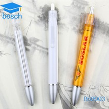Promotional banner pen with roll out paper/massage banner pen