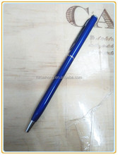 ball pen for stationary/metal ballpoint pen for promotional gift/cheap ballpoint pen bulk buy from china