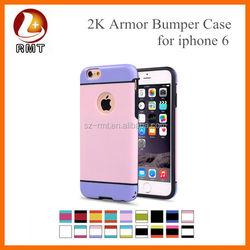 OEM Luminous TPU Bumper Case for iPhone 6 Frame Glitter Silicone Case for iphone TPU Cover Case