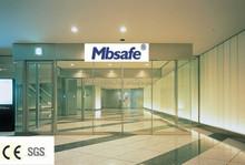MBS automatic glass sliding door /automatic sliding door mechanism