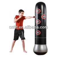 2015 Classic design plastic pvc inflatable punching bags
