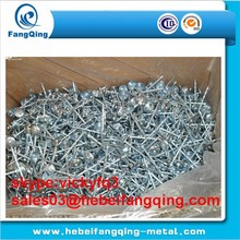 2.5'' umberlla roofing nail/aluminum roofing nails