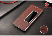2015 fashion genuine leather phone case for Huawei honor 6/plus waterproof