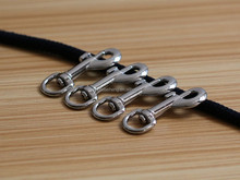 Zinc alloy material small swivel snap hook for fashion bracelet