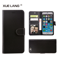 Hot selling phone case for lenovo S858T, wallet stand card slot back cover cell phone case