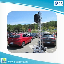 outdoor pa towers Line array speaker system flying trussing support for sale