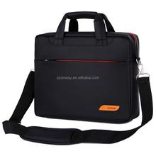 """17"""" Large Capacity Briefcase Single Shoulder Messenger Bag Custom Laptop Computer Bag"""