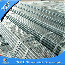 build greenhouses materials ERW galvanized carbon welded pipe