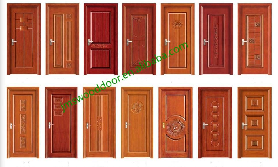 china best price living room door design solid wood mdf door
