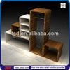 TSD-W501 Wooden cube shelf, garment store rack,custom shop display furniture