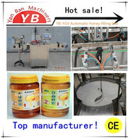 YB-YG4 10-100ml Factory price Automatic cream/ butter/honey/liquid filling machine with CE certificate