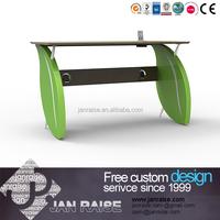 Customized MDF top office desk design modern desk / school teacher desk / computer table