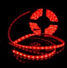 imperméable rouge LED strip 5050 SMD 12V flexible 60 LEDs
