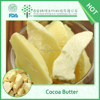 Food Grade pure natural raw cocoa butter in factory price
