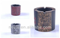 Customed Large Resin Table Top Ash tray Cup Holder Cigar Ashtray For Gift&Decoration