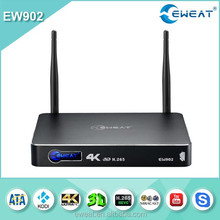 RTD1195 4K 3D media player HDMI in +hdmi out gigabit ethernet android 4.4 kitkat tv box
