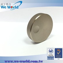 Qualiy surface sandblast chamfered edge color anodized control knob