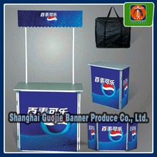 Promotional counter,Trade show table,aluminum backdrop stand
