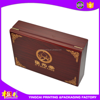 New product 2015 wooden trading card box for china sale