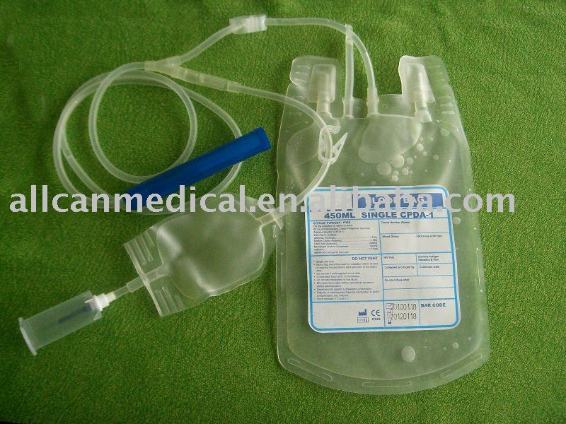 disposable blood bag single bag 450ml