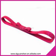 Glitter Knotted elastic headband for girl