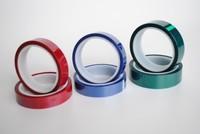 Polyester film silicone adhesive powder coating masking PET tape