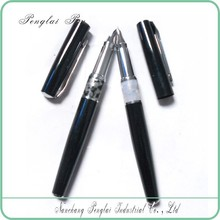 2015 Luxury Top Cap Off Fountain Pen Hot Sell Quality Metal Acrylic Pen