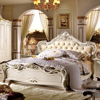 ready to assemble bedroom furniture antique furniture bed room furniture China factory direct wholesale