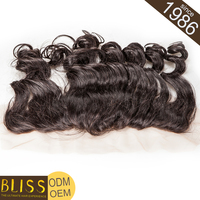 Fast Shipping Virgin Grey Hairpieces