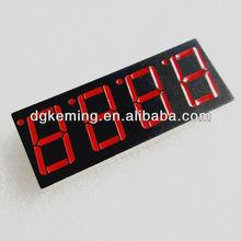 China hot sale 4 digit 7 segment led clock display