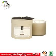 Round Paper Gift Boxes for Candles Christmas Gift Boxes Tube