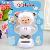 china doll factory solar dancing goat toy swing solar goat magic cute flip flap solar doll car decoration factory wholesale