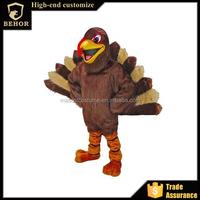 mascot costume figure of Turkey show clothing adult turkeys