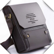2014 high quality fashion men shoulder handbag named brand polo bag