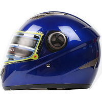 metallic color superbike race helmets Full face safety face shield