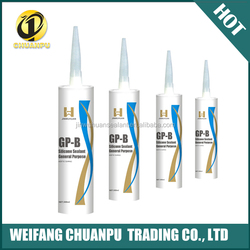 300ml Professional Weatherproof RTV acetic Silicone Sealant