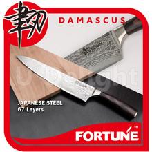 Japanese VG-10 damascus stainless steel Gyuto Chef kitchen knife with pakkawood handle
