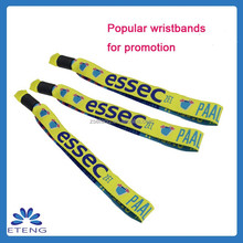 New year souvenir woven wristbands for events personalized gifts