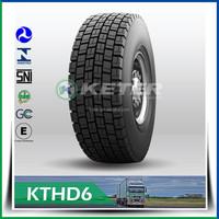 Heavy duty truck tire 295/75R22.5
