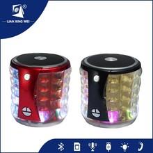 2015 new led light mini microphone portable speaker