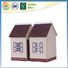 2015 hot sales style beautiful house model as gift