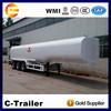 chengda trailer 3 axles 40CBM stainless steel tankers