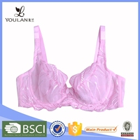 Factory Price Fashionable Large Size Printed Sexy Hot Big Women Bra