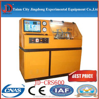 hot sale JD-CRS600 high qulity fuel pump and injector test bench with common rail system and can verify the measurement