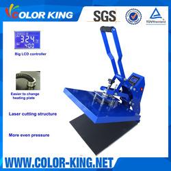 Colorking Most Cost- Efficient LCD digital manual Heat Press Machine CK380