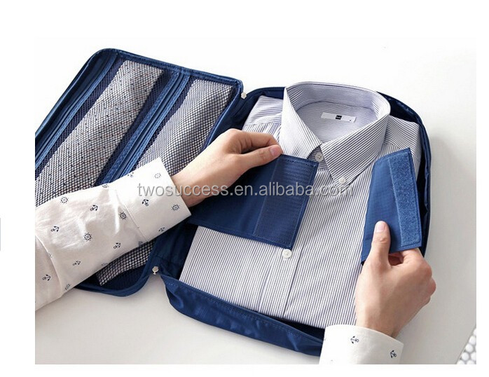Men's Travel bag with Shirt pouch