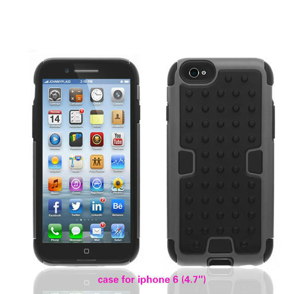Custom mobile phone case,high quality eco-friendly silicone case for iphone 6,waterproof cheap mobile phone case